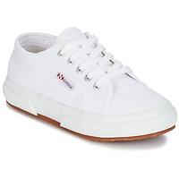 Schuhe Kinder Sneaker Low Superga 2750 KIDS Weiss