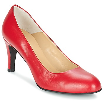Schuhe Damen Pumps Perlato JULIANO Rot