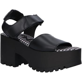 Schuhe Damen Sandalen / Sandaletten MTNG 50735 Negro