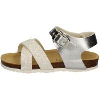 Schuhe Mädchen Sandalen / Sandaletten Evoca EJ109A WEISS