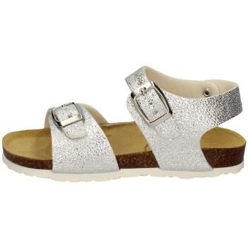Schuhe Mädchen Sandalen / Sandaletten Evoca EJ104A SILBER