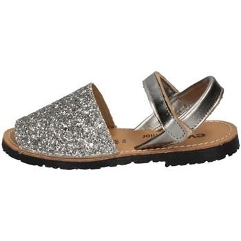 Schuhe Mädchen Sandalen / Sandaletten Evoca TIA SILBER