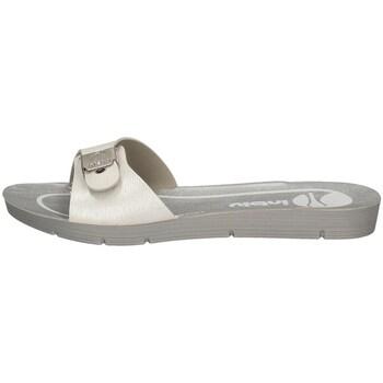 Schuhe Damen Pantoffel Inblu ME 35 WEISS