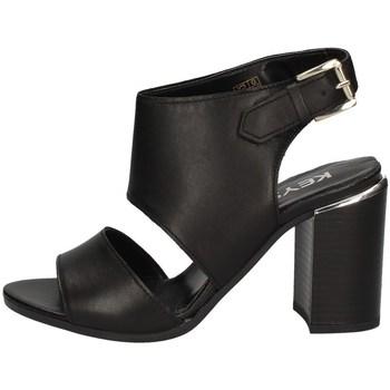 Schuhe Damen Sandalen / Sandaletten Keys K-1981 SCHWARZ