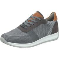 Schuhe Herren Sneaker Ara Sportschuhe Fusion 11-36001-14 grau