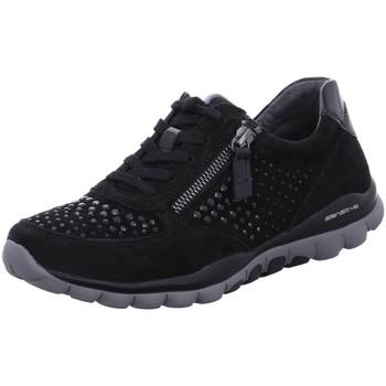 Schuhe Damen Derby-Schuhe & Richelieu Rollingsoft By Gabor Schnuerschuhe 56.968.87 schwarz