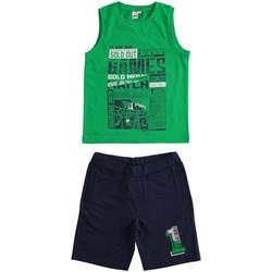 Kleidung Jungen Kleider & Outfits Ido 4J019 Grün blau