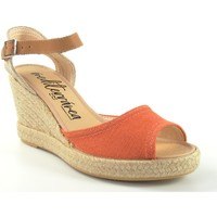 Schuhe Damen Sandalen / Sandaletten Calzamur Dame  267 Fliese Rot