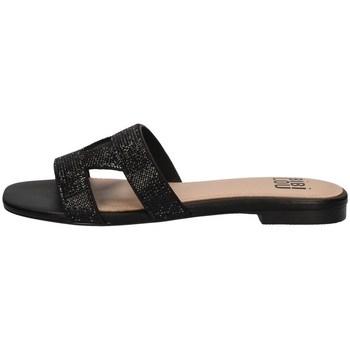 Schuhe Damen Pantoffel Bibi Lou 834Z00HG SCHWARZ