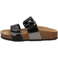 Schuhe Damen Pantoffel Valleverde G51578V SCHWARZ