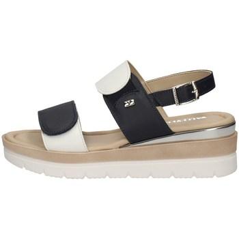 Schuhe Damen Sandalen / Sandaletten Valleverde 32141 BLAU
