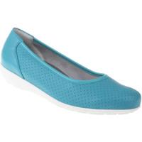 Schuhe Damen Ballerinas Natural Feet Ballerina Annabelle Farbe: blau blau