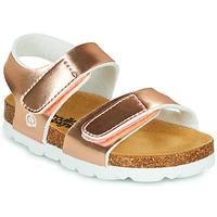 Schuhe Mädchen Sandalen / Sandaletten Citrouille et Compagnie BELLI JOE Gold