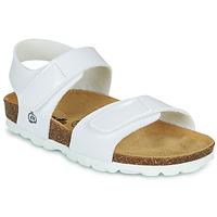 Schuhe Mädchen Sandalen / Sandaletten Citrouille et Compagnie BELLI JOE Weiss