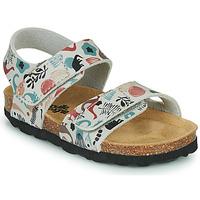 Schuhe Kinder Sandalen / Sandaletten Citrouille et Compagnie BELLI JOE Beige