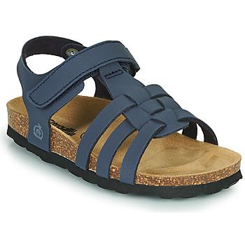 Schuhe Jungen Sandalen / Sandaletten Citrouille et Compagnie JANISOL Blau