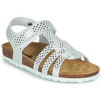 Schuhe Mädchen Sandalen / Sandaletten Citrouille et Compagnie MALIA Weiss