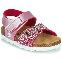 Schuhe Mädchen Sandalen / Sandaletten Citrouille et Compagnie MIRTINO Rose