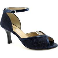 Schuhe Damen Pumps Melluso MEL-E20-E1723-NO Blu