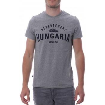 Kleidung Herren T-Shirts Hungaria H-16TLMOBOLV Grau