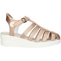 Schuhe Damen Sandalen / Sandaletten Agile By Ruco Line 210ASATSLIDE Rosa