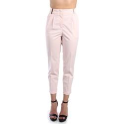 Kleidung Damen Chinohosen Peserico P04979 01938 Pantalone Damen Rosa Rosa