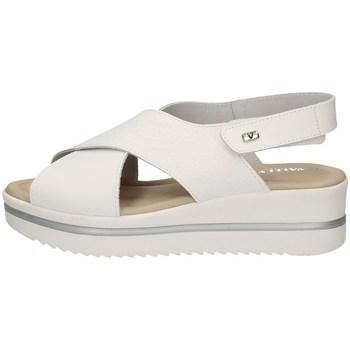 Schuhe Damen Sandalen / Sandaletten Valleverde 32321 WEISS