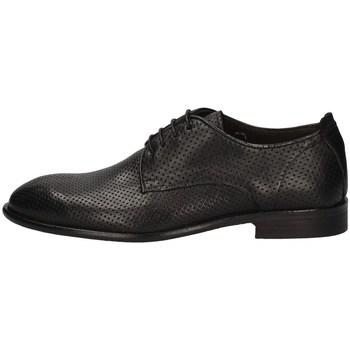 Schuhe Herren Derby-Schuhe Exton 5374 SCHWARZ