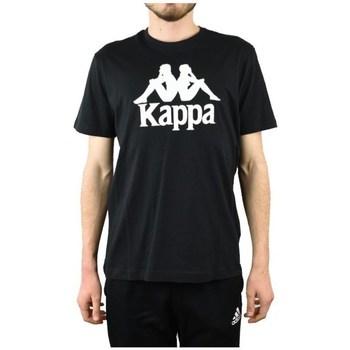 Kleidung Herren T-Shirts Kappa Caspar Tshirt Schwarz