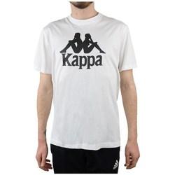 Kleidung Herren T-Shirts Kappa Caspar Tshirt Weiß