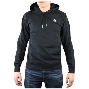 Kleidung Herren Sweatshirts Kappa Vend Hooded Schwarz