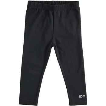 Kleidung Mädchen Leggings Ido 4J192 Schwarz