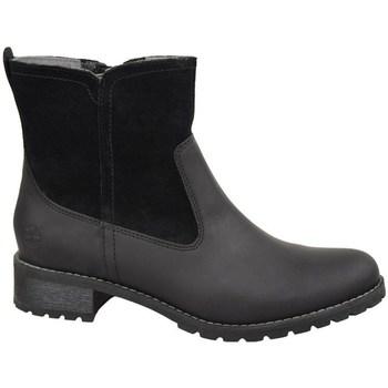 Schuhe Damen Low Boots Timberland W Bethel Biker Schwarz