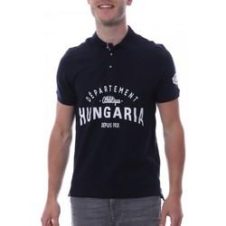 Kleidung Herren Polohemden Hungaria H-16TLMODOLE Blau