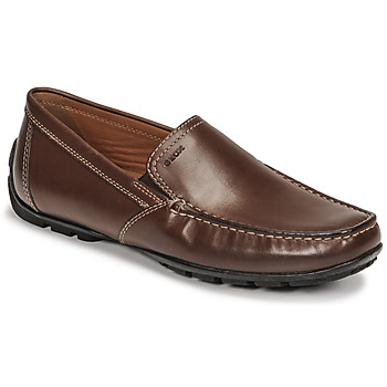 Schuhe Herren Slipper Geox MONET Braun