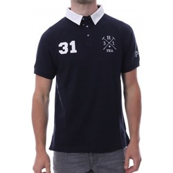 Kleidung Herren Polohemden Hungaria H-16TLMODORE Blau