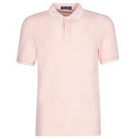 Kleidung Herren Polohemden Fred Perry TWIN TIPPED FRED PERRY SHIRT Rose