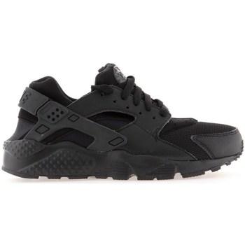 Schuhe Jungen Laufschuhe Nike Huarache Run GS Schwarz