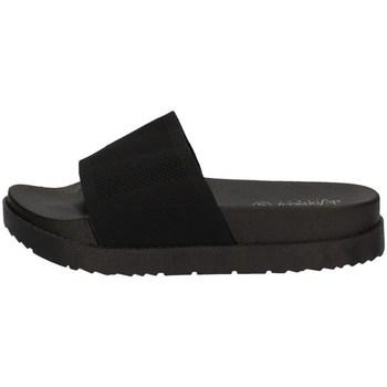 Schuhe Damen Pantoffel De Fonseca ALASSIO E W678 SCHWARZ