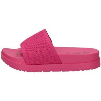 Schuhe Damen Pantoffel De Fonseca ALASSIO E W678 FUCHSIE