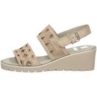Schuhe Damen Sandalen / Sandaletten CallagHan 24601 SAND