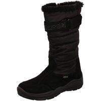 Schuhe Mädchen Schneestiefel Imac Winterstiefel 831128 7000/011 schwarz