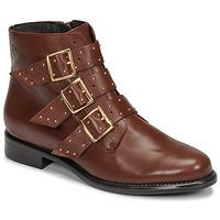 Schuhe Damen Boots Betty London LYS Camel