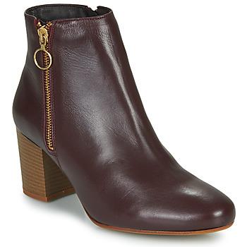 Schuhe Damen Low Boots Betty London NILIVE Bordeaux