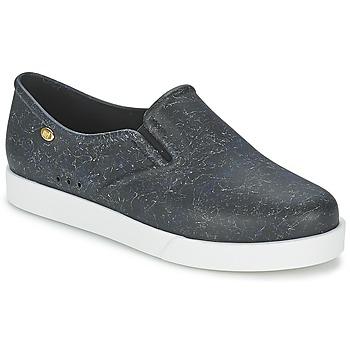 Schuhe Damen Slip on Mel KICK Schwarz