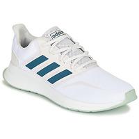 Schuhe Sneaker Low adidas Performance RUNFALCON Weiss