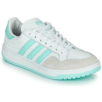 Schuhe Sneaker Low adidas Originals TEAM COURT W Weiss / Türkis
