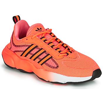 Schuhe Damen Sneaker Low adidas Originals HAIWEE J Orange / Schwarz