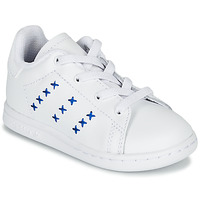 Schuhe Kinder Sneaker Low adidas Originals STAN SMITH EL I Weiss