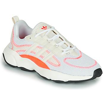 Schuhe Kinder Sneaker Low adidas Originals HAIWEE W Weiss